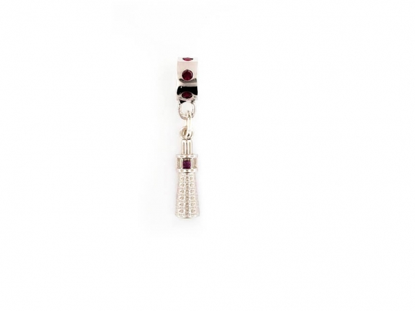 South Haven Lighthouse Bracelet Charm by The South Haven Lighthouse Collection
